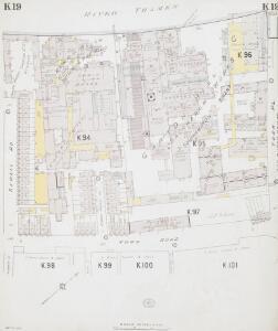 Insurance Plan of London South West District Vol. K: sheet 19