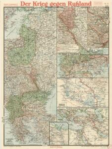 Paasche's Frontenkarte, Nr.17. Der Krieg gegen Russland