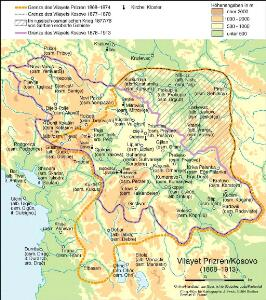 Vilayet Prizren/Kosovo (1868-1913)