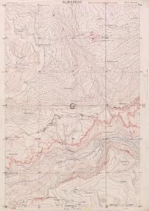 Albaredo, Italy: enemy trenches corrected to 1.6.18.