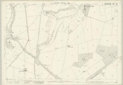 Gloucestershire XIV.3 (includes: Broadway; Chipping Campden; Saintbury; Weston Subedge; Willersey) - 25 Inch Map