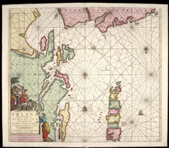 Pascaart van de noortcust van Yrland als meede de westcust van Schotland / by Johannes van Keulen.