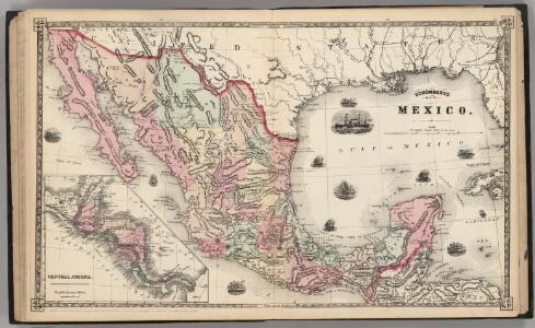 Schonberg's Map of Mexico.
