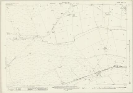 Durham XL.16 (includes: Langleydale And Shotton; Woodland) - 25 Inch Map