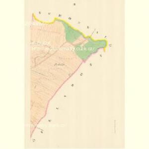 Deutsch Loosen (Německy Losky) - m1475-1-002 - Kaiserpflichtexemplar der Landkarten des stabilen Katasters