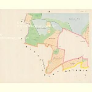 Plastowitz - c5816-1-008 - Kaiserpflichtexemplar der Landkarten des stabilen Katasters
