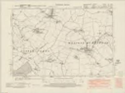 Cambridgeshire LXI.SW - OS Six-Inch Map