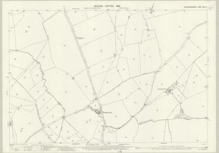 Buckinghamshire XXIII.7 (includes: Creslow; Dunton; Hoggeston; Oving; Whitchurch) - 25 Inch Map