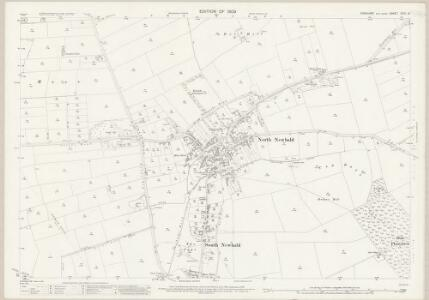 Yorkshire CCIX.15 (includes: Hotham; Newbald) - 25 Inch Map