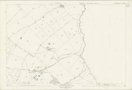 Northamptonshire XIX.4 (includes: Folksworth and Washingley; Lutton; Morborne; Warmington) - 25 Inch Map