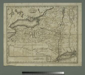 State of New York, Jany. 1, 1824: for Spafford's gazetteer.