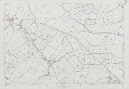 Somerset XXVI.8 (includes: Cheddar; Weare; Wedmore) - 25 Inch Map