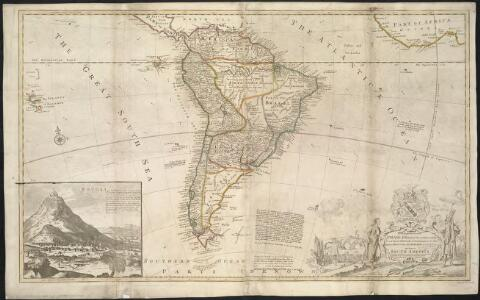 This map of South America, according to the newest and most exact observations ...