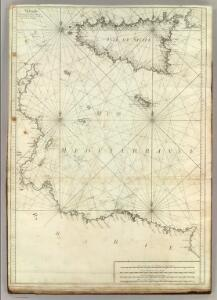 Carte De La Mer Mediterranee.  VI.