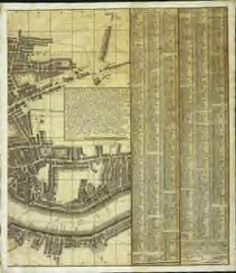A new and exact plan of the city of London and suburbs thereof, 3