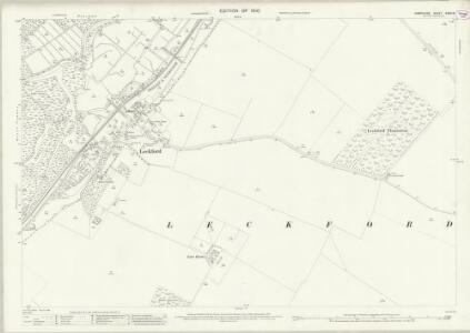 Hampshire and Isle of Wight XXXII.9 (includes: Chilbolton; Leckford; Longstock) - 25 Inch Map