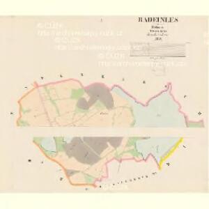 Radeinles - c6398-1-001 - Kaiserpflichtexemplar der Landkarten des stabilen Katasters