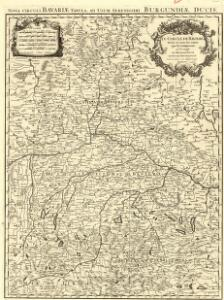 Le Cercle de Baviere divisè en tous les Estats qui le Composent a L'Usage de Monseigneur le duc de Bourgogne