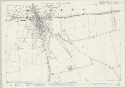 Cambridgeshire LVIII.14 (includes: Melbourn; Royston; Therfield) - 25 Inch Map