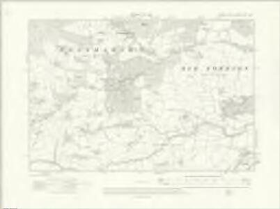 Sussex XLV.NW - OS Six-Inch Map