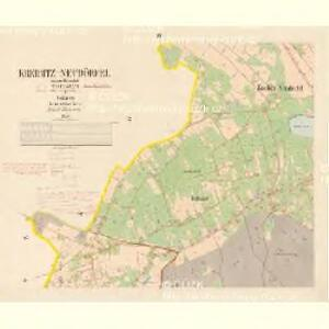 Kreibitz Neudörfel - c5196-1-002 - Kaiserpflichtexemplar der Landkarten des stabilen Katasters