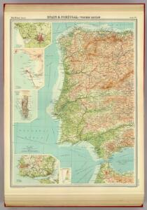 Spain & Portugal - western section.