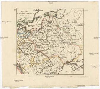 Polska za Zygmunta Augusta roku 1572