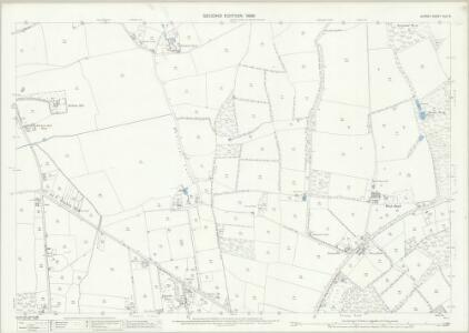 Surrey XLII.6 (includes: Burstow; Horne) - 25 Inch Map