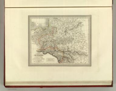 Carte de Nouve au Royaume de Polonge.
