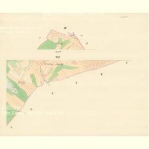 Czeitsch - m0360-1-008 - Kaiserpflichtexemplar der Landkarten des stabilen Katasters