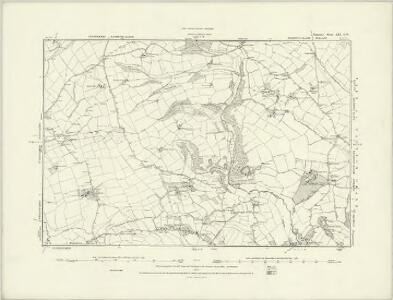 Somerset LVIII.NW - OS Six-Inch Map