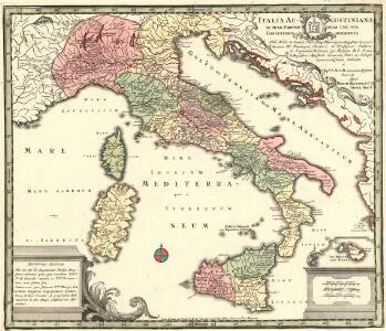 Italia Augustiniana In Suas Provincias Una Cum Conventibus Distributa