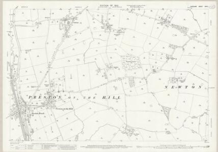 Cheshire XXV.6 (includes: Daresbury; Dutton; Hatton; Norton; Preston Brook) - 25 Inch Map
