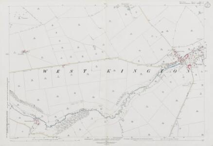 Wiltshire XIX.5 (includes: Marshfield; Nettleton) - 25 Inch Map