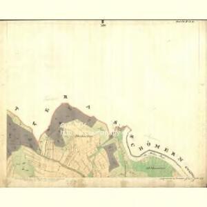 Sahorz - c9054-1-003 - Kaiserpflichtexemplar der Landkarten des stabilen Katasters