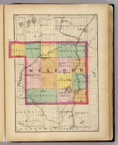 (Map of Wexford County, Michigan)