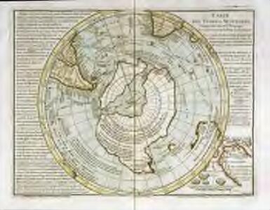 Carte des terres australes, comprises entre le tropique du Capricorne et le pôle antarctique