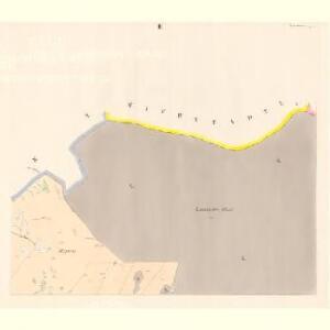 Linsdorf (Techowin) - c7882-1-003 - Kaiserpflichtexemplar der Landkarten des stabilen Katasters
