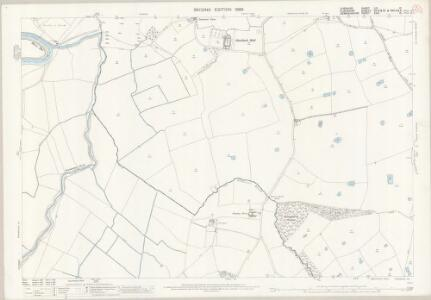 Cheshire LIX.12 (includes: Church Shocklach; Cuddington; Is Y Coed; Shocklach Oviatt; Worthenbury) - 25 Inch Map