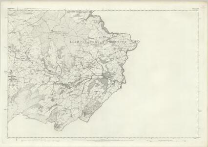 Denbighshire XXXII - OS Six-Inch Map