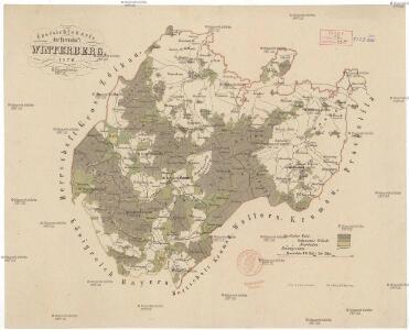Übersichtskarte der Herrschaft Winterberg