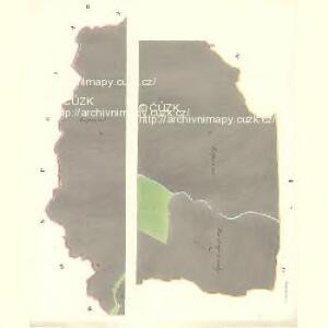 Neudorf (Nowawes) - m2195-1-001 - Kaiserpflichtexemplar der Landkarten des stabilen Katasters