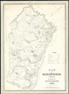 Map of Marshfield, Mass.