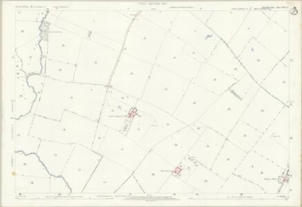 Huntingdonshire XVII.12 (includes: Alconbury; Brampton; The Stukeleys) - 25 Inch Map