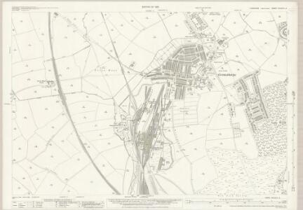 Yorkshire CCLXXV.2 (includes: Brierley; Cudworth; Great Houghton; Shafton) - 25 Inch Map