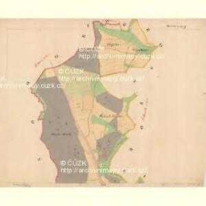 Kaplitz - c3043-1-001 - Kaiserpflichtexemplar der Landkarten des stabilen Katasters