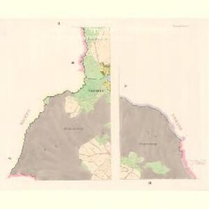 Schwarzach - c7813-1-002 - Kaiserpflichtexemplar der Landkarten des stabilen Katasters