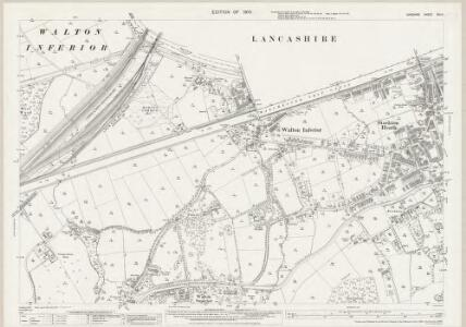 Cheshire XVI.11 (includes: Appleton; Penketh; Stockton Heath; Walton; Warrington) - 25 Inch Map