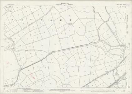 Kent XXXVI.3 (includes: Chislet) - 25 Inch Map