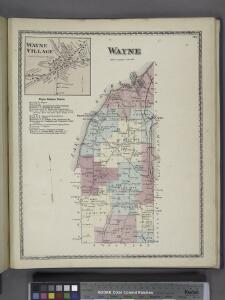 Wayne Village [Village]; Wayne Business Notices. ; Wayne [Township]